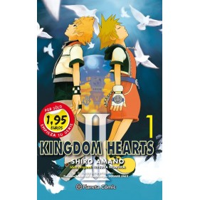 MM KINGDOM HEARTS II 01 - SEMINUEVO
