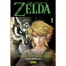 THE LEGEND OF ZELDA TWILIGHT PRINCESS 01 - SEMINUEVO