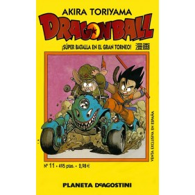 DRAGON BALL TOMO AMARILLO 11 - SEMINUEVO