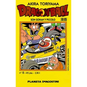 DRAGON BALL TOMO AMARILLO 18 - SEMINUEVO