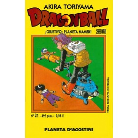 DRAGON BALL TOMO AMARILLO 21 - SEMINUEVO