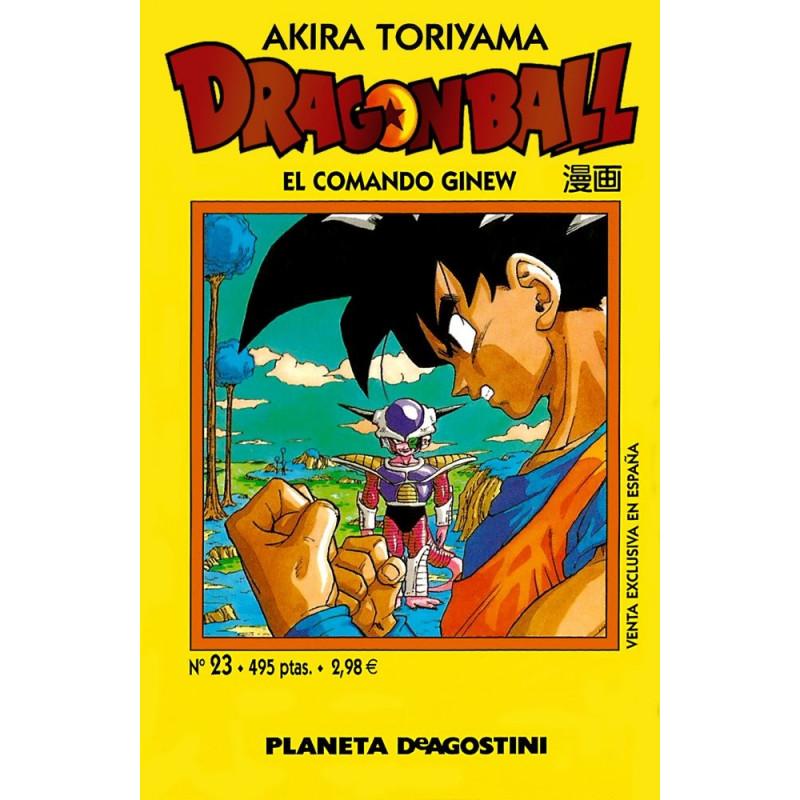 DRAGON BALL TOMO AMARILLO 23 - SEMINUEVO