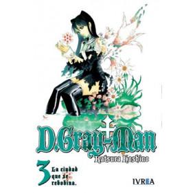 D.GRAY-MAN 03 (IVR) - SEMINUEVO