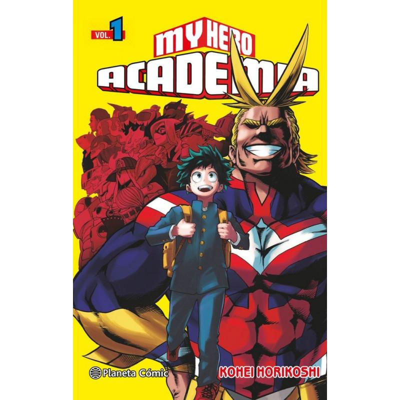 MY HERO ACADEMIA 01 - SEMINUEVO