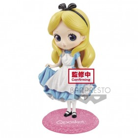 DISNEY CHARACTERS Q POSKET ALICE GLITTER 13CM