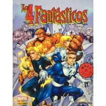 LOS 4 FANTASTICOS - BEST SELLER - SEMINUEVO
