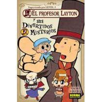 EL PROFESOR LAYTON Y SUS DIVERTIDOS MISTERIOS 02 - SEMINUEVO