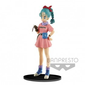 DRAGON BALL SCULTURE BULMA WITH RADAR FIGURA 16 CM