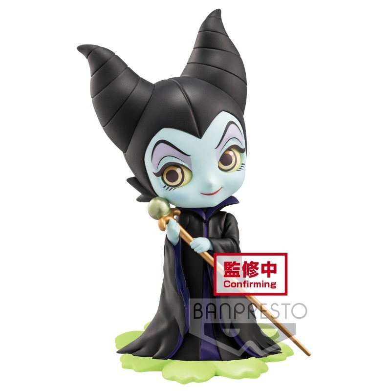 DISNEY SWEETINY CHARACTERS MALEFICIENT Q POSKET 10CM