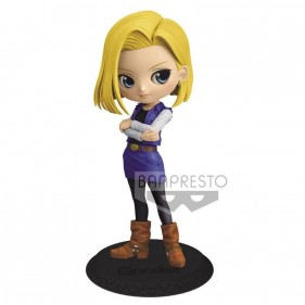 DRAGON BALL Q POSKET ANDROID 18 18CM