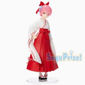 RE: ZERO RAM JAPAN DRESS MIKO 23CM