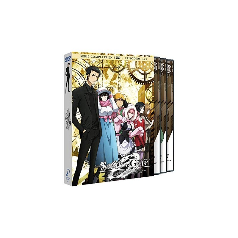 STEINS GATE ZERO SERIE COMPLETA DVD