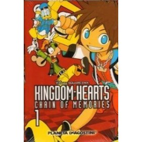 KINGDOM HEARTS CHAIN OF MEMORIES 01 - SEMINUEVO