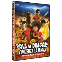 BOLA DE DRAGON: COMIENZA LA MAGIA DVD (DRAGON BALL)