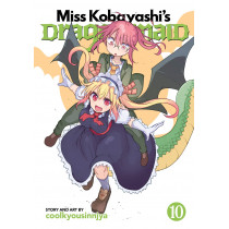 MISS KOBAYASHI'S DRAGON MAID 10 (INGLES - ENGLISH)
