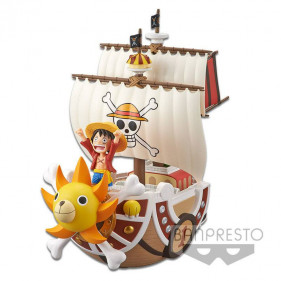 ONE PIECE MEGA WORLD COLLECT. THOUSEND SUNNY 16CM