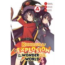 KONOSUBA: EXPLOSION 04 (INGLES - ENGLISH)