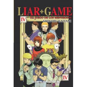 LIAR GAME 04 (1º ED) - SEMINUEVO