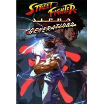 STREET FIGHTER ALPHA GENERATIONS DVD
