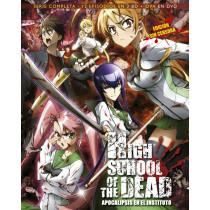 HIGH SCHOOL OF THE DEAD SERIE COMPLETA BLU-RAY