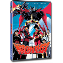 MAZINKAISER SERIE COMPLETA, 7 OVAS, 2 DVD