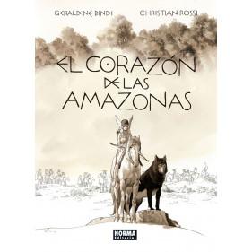 EL CORAZON DE LAS AMAZONAS - SEMINUEVO