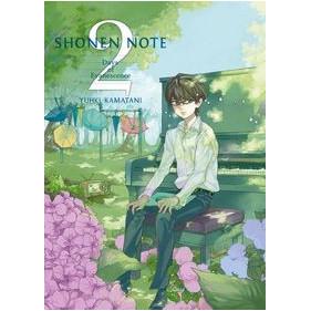 SHONEN NOTE 02 - SEMINUEVO