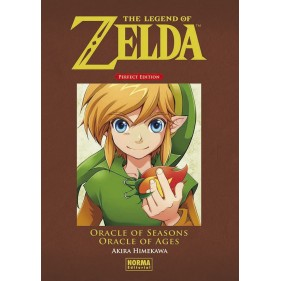 THE LEGEND OF ZELDA PERFECT EDITION 04 ORACLE OF S