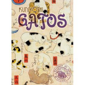 GATOS (SET DE POSTALES JAPONESAS)