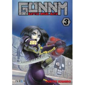 GUNNM (BATTLE ANGEL ALITA) 03