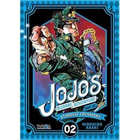 JOJO'S BIZARRE ADVENTURE PARTE 3: STARDUST CRUS 02