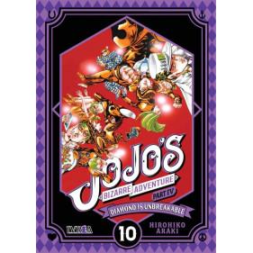 JOJO'S BIZARRE ADVENTURE PARTE 4: DIAMOND IS UN 10