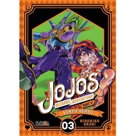 JOJO'S BIZARRE ADVENTURE PARTE 5: VENTO AUREO 03
