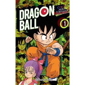 DRAGON BALL COLOR ORIGEN Y RED RIBBON 01/08