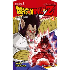 DRAGON BALL Z ANIME SERIES SAIYAN 05/05