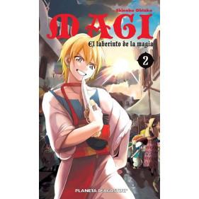 MAGI EL LABERINTO DE LA MAGIA 02