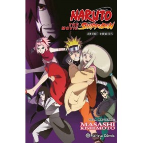 NARUTO ANIME COMIC 01 THE MOVIE SHIPPUDEN