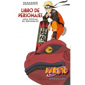 NARUTO GUIA 03 LIBRO DE PERSONAJES