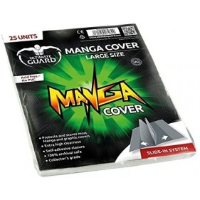 ULTIMATE GUARD MANGA COVERS GRANDE 133X188MM (25 UDS)