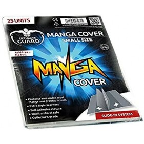 ULTIMATE GUARD MANGA COVERS PEQUEÑO 121X177MM (25 UDS)