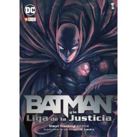 BATMAN Y LA LIGA DE LA JUSTICIA (MANGA) 01