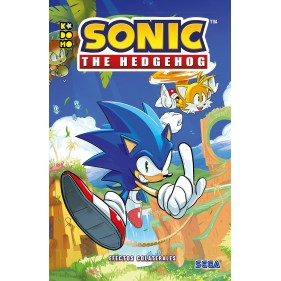 SONIC THE HEDGEHOG TOMO 01 EFECTOS COLATERALES