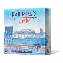 RAILROAD INK: EDICION AZUL PROFUNDO