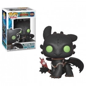 HOW TO TRAIN YOUR DRAGON 3 TOOTHLESS POP