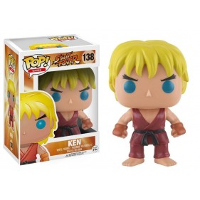 STREET FIGHTER KEN FIGURA 10 CM VINYL POP GAMES