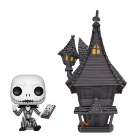 THE NIGHTMARE BEFORE CHRISTMAS POP JACK & HOUSE 9CM