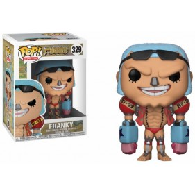 ONE PIECE FRANKY FIGURA 10 CM VINYL POP TV ONE PIE