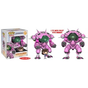 OVERWATCH PACK MEKA CON D.VA CONDUCTOR POP