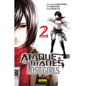 ATAQUE A LOS TITANES LOST GIRLS 02