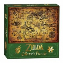 THE LEGEND OF ZELDA PUZZLE HYRULE MAP 45X60CM